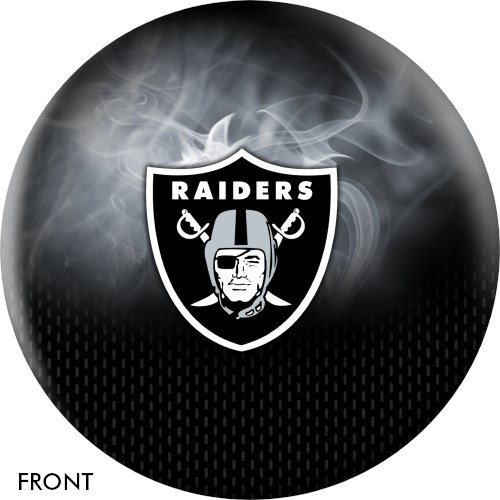 KR Strikeforce NFL on Fire Las Vegas Raiders Ball Main Image