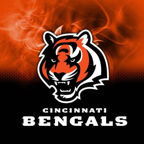 KR Strikeforce NFL on Fire Towel Cincinnati Bengals Main Image