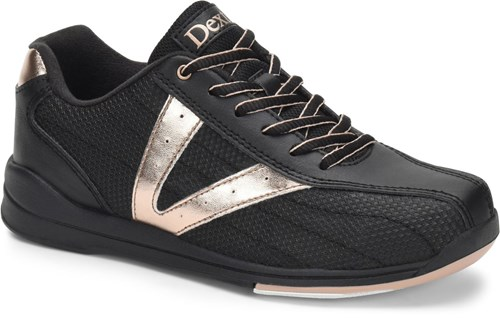 Dexter Womens Vicky Black/Rose Gold Main Image
