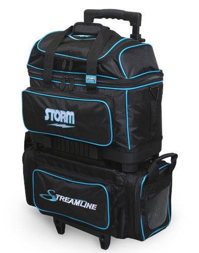 Storm Streamline 4 Ball Roller Black/Blue Main Image