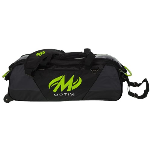 Motiv Ballistix Triple Tote Grey/Lime Main Image
