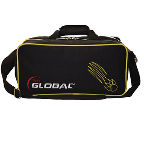 900Global 2 Ball Travel Tote Black/Gold Claw Main Image
