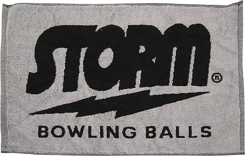 Storm Signature Towel Black/Grey Main Image