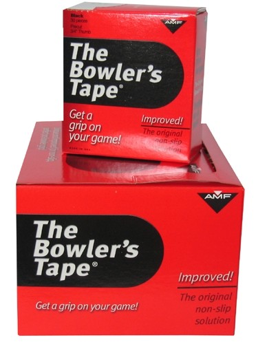 AMF Bowlers Tape 3/4 Black 500-piece Roll Main Image