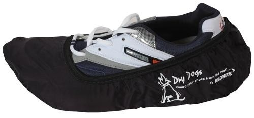 Ebonite Dry Dog Shoe Covers Black Main Image