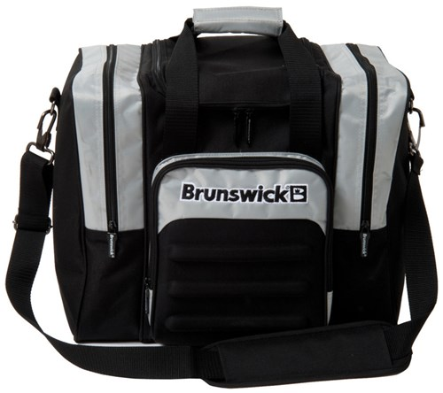 Brunswick Flash Single Tote Black/Silver Main Image