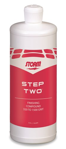 Storm Pro Finish Compound Quart - Step Two Main Image