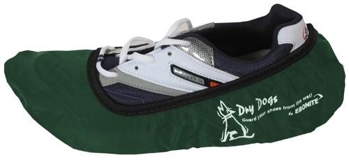 Ebonite Dry Dog Shoe Covers Green Main Image