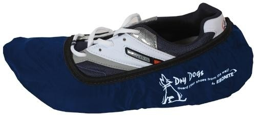 Ebonite Dry Dog Shoe Covers Navy Main Image