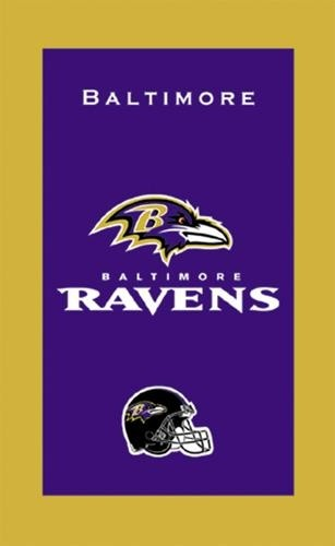 KR Strikeforce NFL Towel Baltimore Ravens Main Image