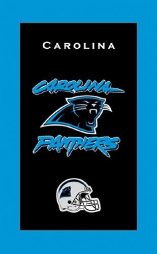 KR Strikeforce NFL Towel Carolina Panthers Main Image