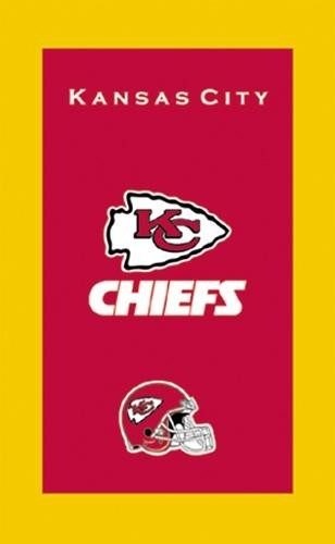 KR NFL Towel Kansas City Chiefs Main Image