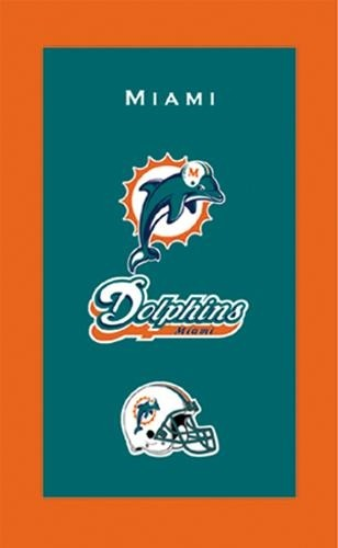 KR Strikeforce NFL Towel Miami Dolphins Main Image