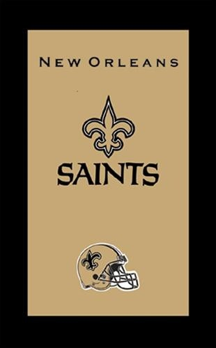 KR NFL Towel New Orleans Saints Main Image