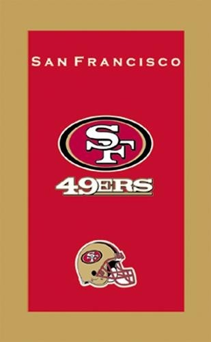 KR Strikeforce NFL Towel San Francisco 49ers Main Image