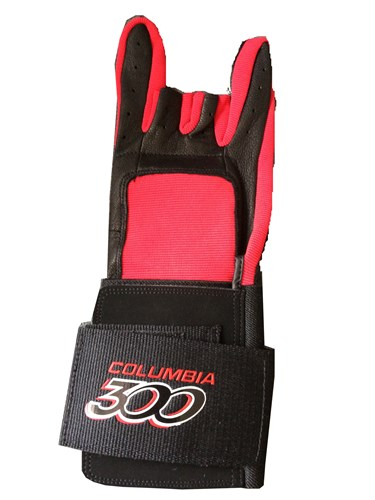 Columbia ProWrist Glove Red Left Main Image