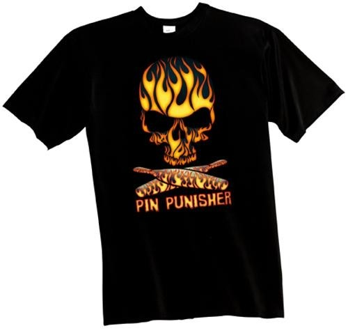 Exclusive bowling.com Pin Punisher T-Shirt Main Image