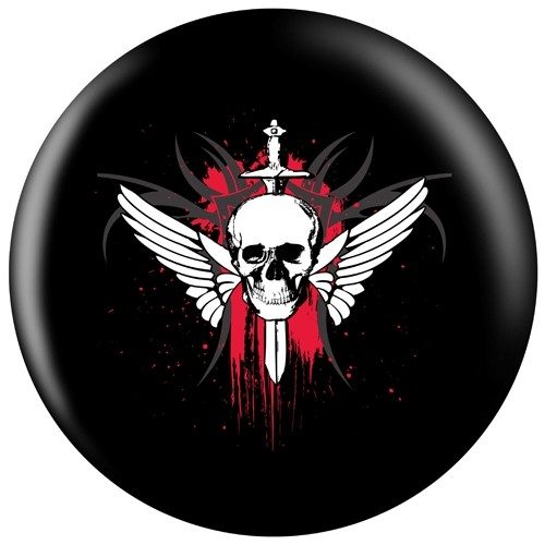 OnTheBallBowling Winged Skull Main Image