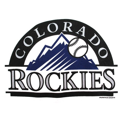 Master MLB Colorado Rockies Towel Main Image