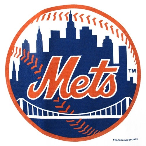 Master MLB New York Mets Towel Main Image