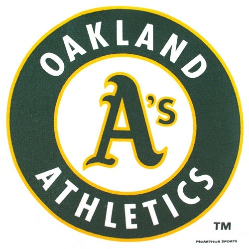 Master MLB Oakland Athletics Towel Main Image