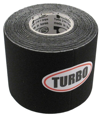 Turbo 2-N-1 Grips Black Patch Tape Roll Main Image