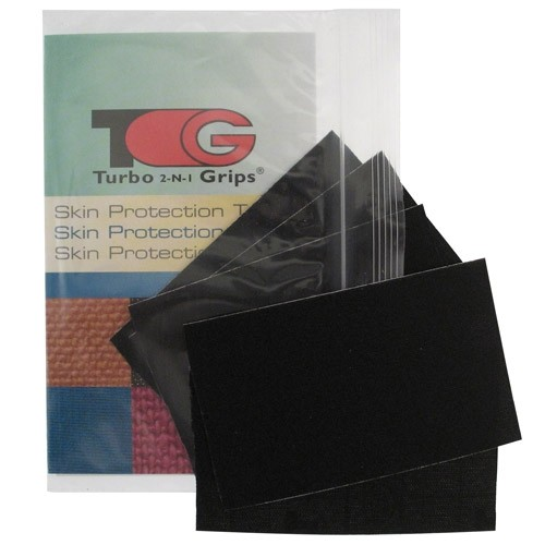 Turbo 2-N-1 Grips Black Patch Tape Package Main Image