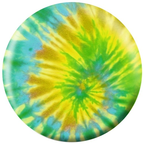 Exclusive Green Tie-Dye Viz-A-Ball Main Image