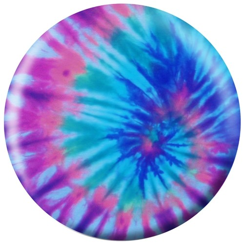Exclusive Purple Tie-Dye Viz-A-Ball Main Image
