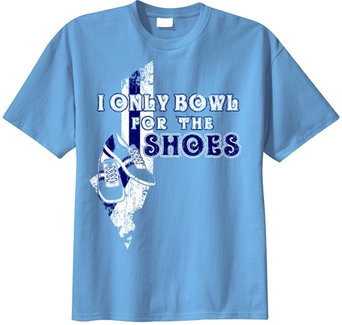 Exclusive bowling.com Only Bowl for Shoes T-Shirt Main Image