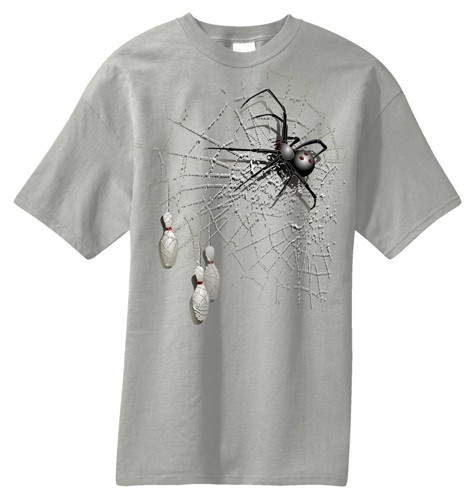 Exclusive bowling.com Spider T-Shirt Main Image