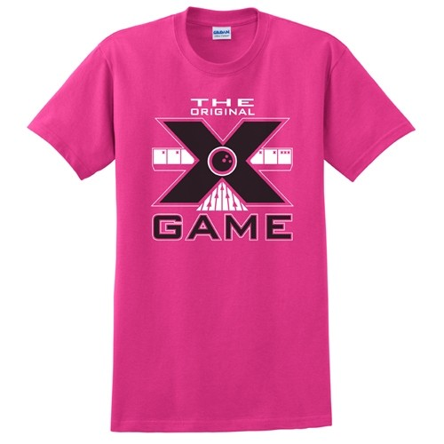 Exclusive bowling.com Original X Game TShirt Pink Main Image