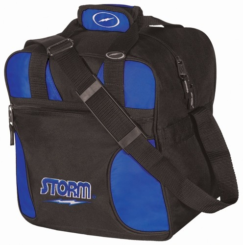 Storm Solo Single Tote Black/Royal Main Image
