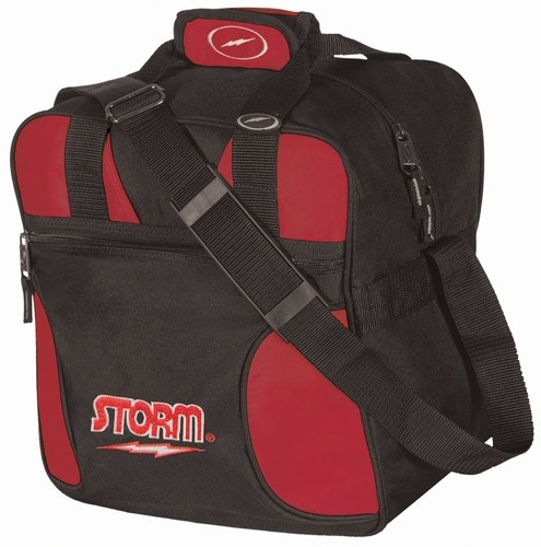 Storm Solo Single Tote Black/Red Main Image