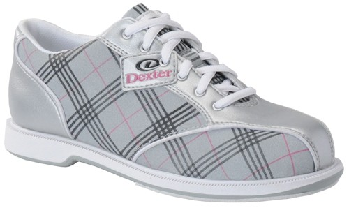 Dexter Womens Ana Silver/Pink Plaid Main Image