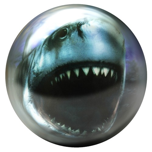 Brunswick Shark Glow Viz-A-Ball Main Image