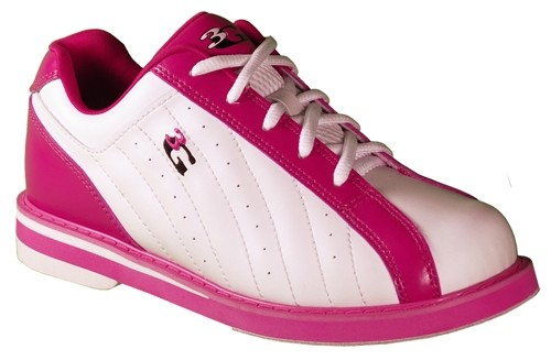 3G Womens Kicks White/Pink Main Image