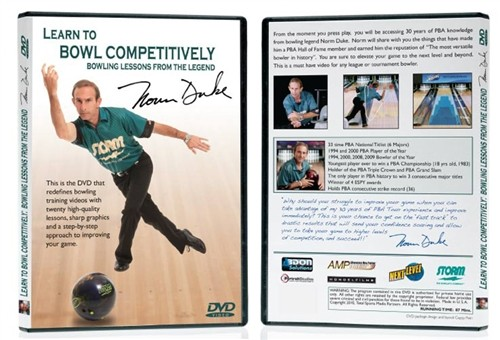 Learn to Bowl Competitively with Norm Duke DVD Main Image