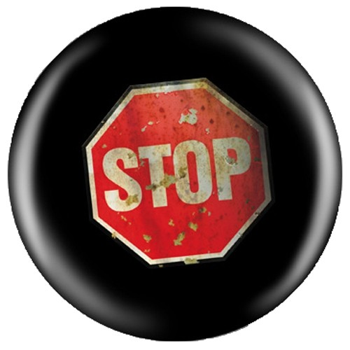 OnTheBallBowling Houk Design Stop Sign Main Image