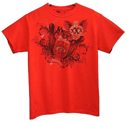 Dexter Coat of Arms Red T-Shirt Main Image