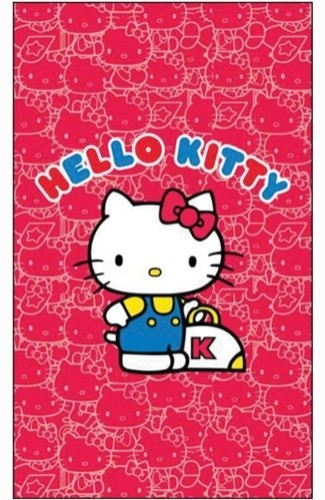 Brunswick Hello Kitty Towel Main Image
