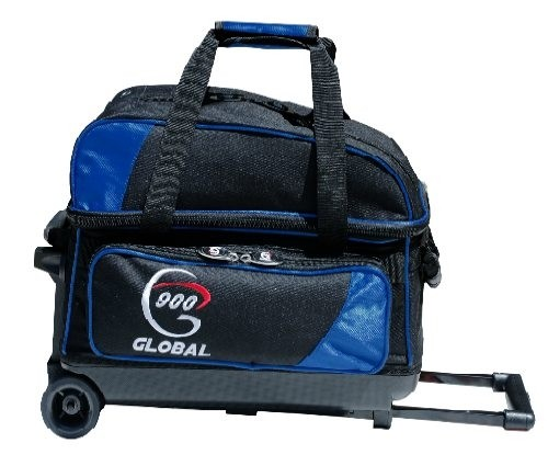 900Global Value 2 Ball Roller Blue/Black Main Image