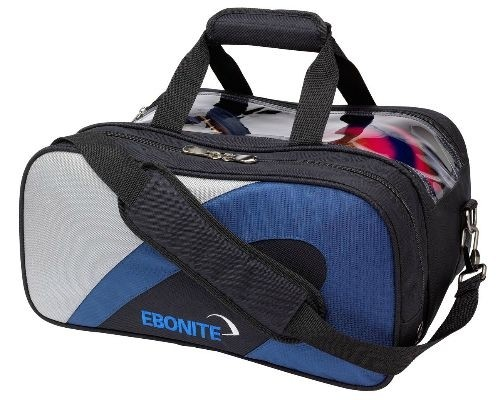 Ebonite Team Double Tote Navy/Silver Main Image
