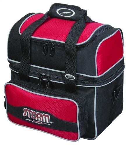 Storm 1 Ball Flip Tote Black/Red Main Image
