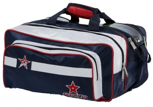 Roto Grip 2 Ball Tote Plus Red/Blue Main Image