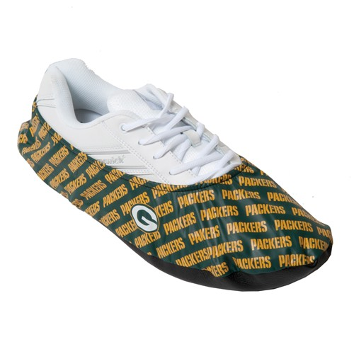 KR NFL Green Bay Packers Shoe Covers Main Image