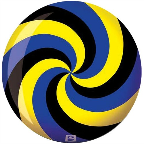 Brunswick Spiral Glow Viz-A-Ball Yellow/Black/Blue Main Image