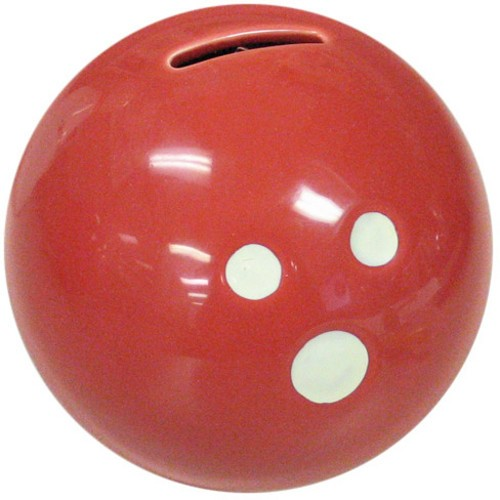 Ceramic Bowling Ball Bank-Red Main Image