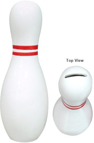 Ceramic Bowling Pin Bank Main Image
