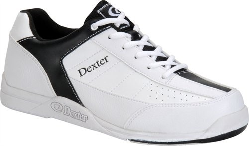 Dexter Mens Ricky III White/Black WIDE WIDTH Main Image